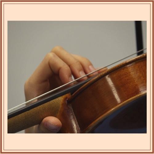 Lagenwechsel auf der Geige
