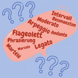 Die Bedeuting der Sprache im Instrumentalunterricht