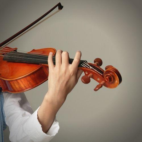 Violine Handstellung der linken Hand: Kennen Sie die Roboter-Übung?