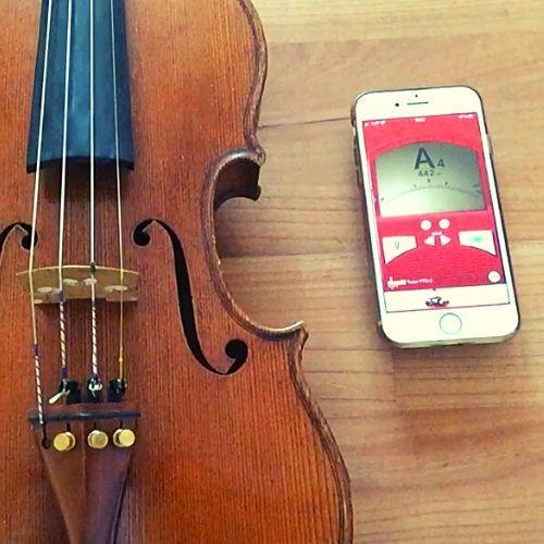 Wie stimme ich meine Geige?