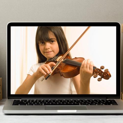 Tipps für Online-Unterricht auf der Geige