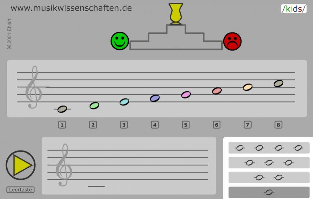 Lernspiel im Online-Instrumentalunterricht