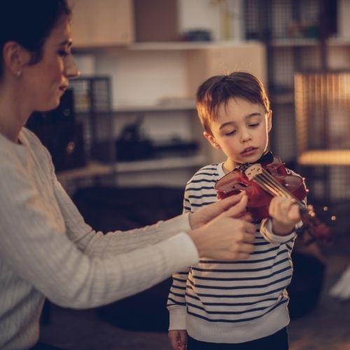 Eltern als Übe-Unterstützer